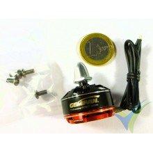 Motor brushless GEMFAN M2205R, 2300Kv, CW, 27.5g, para multirrotor