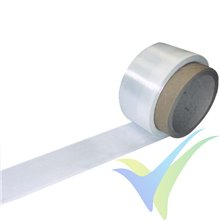 Glass fabric tape 49g/m2 (FE800/ plain) 5cm, roll 100m