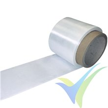 Glass fabric tape 49g/m2 (FE800/ plain) 10cm, roll 100m