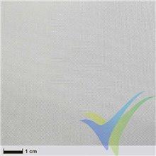 Tela fibra vidrio 110g/m2 (silano / tejido liso) rollo 25cm x 20m