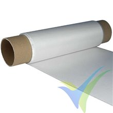 Glass fabric 110g/m2 (silane, plain) 25cm, roll 20m