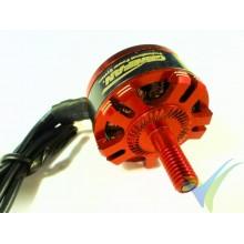 Motor brushless GEMFAN Racing GT2206L, 2300Kv, CCW, 33g, para multirotor