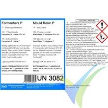 Kit resina epoxi P para molde + endurecedor EPH161-P, 1.17Kg