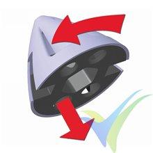 """Hélice Graupner CAM plegable 10x6"""" (25x16cm) con cono Ø39/3.17mm ventilado"""
