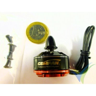 Motor brushless GEMFAN M2306R, 2200Kv, CW, 27.5g, para multirrotor