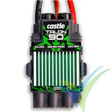 Variador brushless Castle Creations Talon 90, 2S-6S, 90A, SBEC 9A, 84.5g