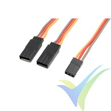 G-Force RC - Servo Y-Lead - JR/Hitec - 22AWG / 60 Strands - 30cm - 1 pc