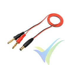 Cable de carga emisora Futaba, 50cm