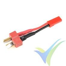 Adaptador de conector Deans macho a JST hembra, cable silicona 0.52mm2 (20AWG), G-Force