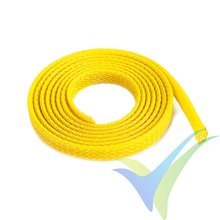 G-Force RC - Wire Protection Sleeve - Braided - 6mm - Yellow - 1m