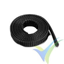 G-Force RC - Wire Protection Sleeve - Braided - 8mm - Black - 1m