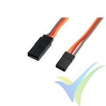 Prolongador cable de servo JR/Hitec 30cm, 0.33mm2 (22AWG) 60 venillas, G-Force