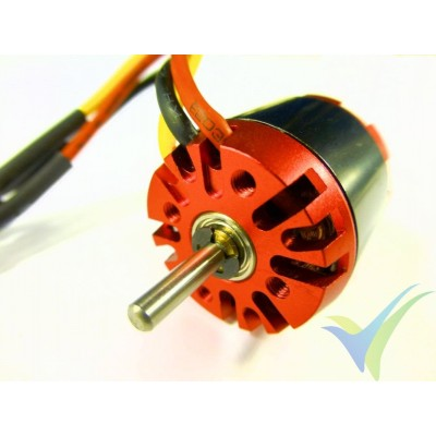 Motor brushless EMP N2826/09, 1900 Kv