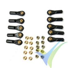 BS Ball Links M3 V1 (10pcs) brass ball