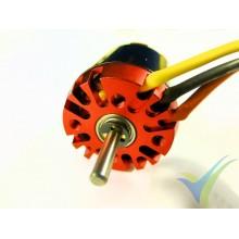 Motor brushless EMP N2830/15, 62g, 245W, 750 Kv