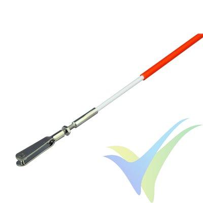 Sistema transmisión flexible Yuki Model 1500mm, M2, 20.55g, 1 ud