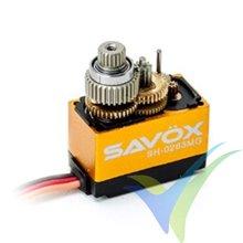 Servo digital Savox SH-0263MG, 15g, 2.2Kg.cm, 0.1s/60º, 4.8V-6V