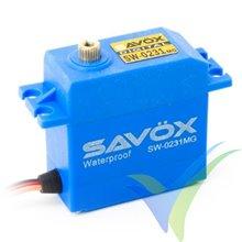 Servo digital Savox SW-0231MG, 66g, 15Kg.cm, 0.17s/60º, 4.8V-6V