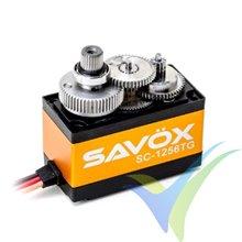 Servo digital Savox SC-1256TG, 52.4g, 20Kg.cm, 0.15s/60º, 4.8V-6V