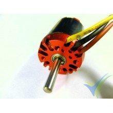EMP N2836/10 brushless motor, 76g, 305W, 880 Kv