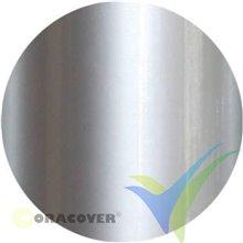 Oracover Oralight plata opaco 1m x 60cm