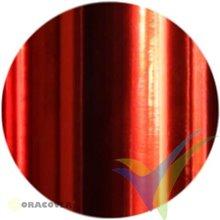Oracover Oralight rojo cromo claro 1m x 60cm