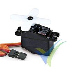Servo digital Graupner DES 261 BB, 8g, 4.08Kg.cm, 0.15s/60º, 4.8V-6V