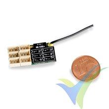 Receptor Graupner GR-12SC+ HoTT 2.4GHz, 6 canales