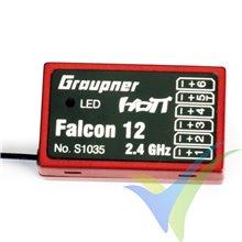 Graupner HoTT Falcon 12 receiver, 6 ch, 7g