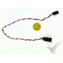 Prolongador cable de servo universal- 30cm - 0.13mm2 (26AWG)