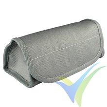 Bolsa ignífuga de seguridad 190x85x75mm para batería LiPo