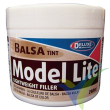 Model Lite balsa filler 240cc (balsa color)