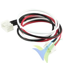 Balancer extension cable, YUKI MODEL, compatible with JST XH, 2S, 30cm