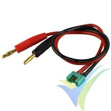 Cable de carga con conector MPX, 2.5mm2, 30cm