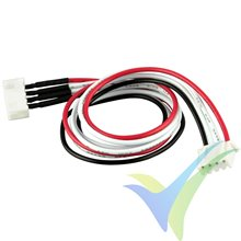 Balancer extension cable, YUKI MODEL, compatible with JST XH, 3S, 30cm
