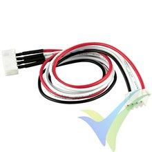 Prolongador cable equilibrado JST-XH para LiPo 3S, 30cm