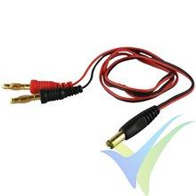 Cable de carga 0.34mm2 para emisora JR/HoTT, 60cm