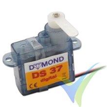 Servo digital Dymond DS-37, 3.7g, 0.41Kg.cm, 0.09s/60º, 4.8V