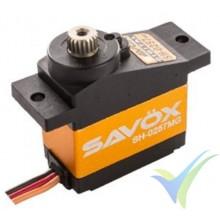 Servo digital Savox SH-0257MG, 14g, 2.2Kg.cm, 0.09s/60º, 4.8V-6V