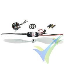 Kit de propulsión Multiplex 1-00012 Extra 330SC Indoor