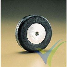 Rueda de cola 32x13.2mm Dubro 125TW, eje 2mm, 13g