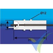 Acople Multiplex para remolque de veleros