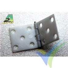 Bisagra montada nylon A2Pro 6390, 34x16mm, 10 uds