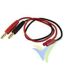 Cable de carga 1.5mm2 con conector HXT 3.5mm, 30cm