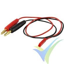 Cable de carga con conector JST BEC, 0.75mm2, 30cm