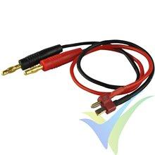 Cable de carga con conector Deans, 1.5mm2, 30cm