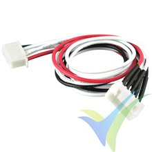 Balancer extension cable, YUKI MODEL, compatible with JST XH, 4S, 30cm