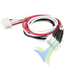 Prolongador cable equilibrado JST-XH para LiPo 4S, 30cm