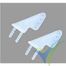 Micro horn for Parkflyer, Dubro 919, 0.3g, 2 pcs
