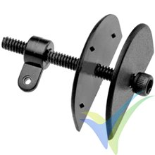 Micro adjustable control horn, Dubro 935, 2 pcs